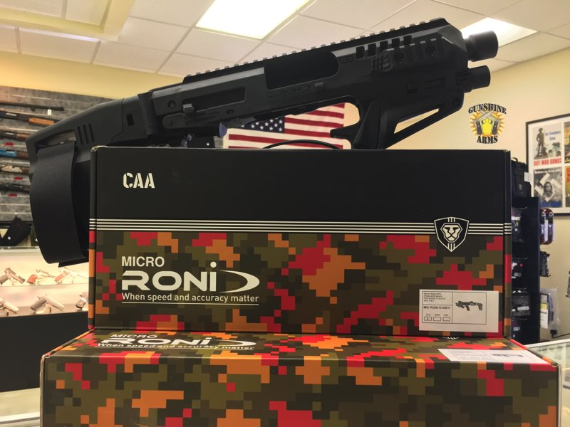 Micro RONI Stabilizer for GLOCK 19 & GLOCK 17…