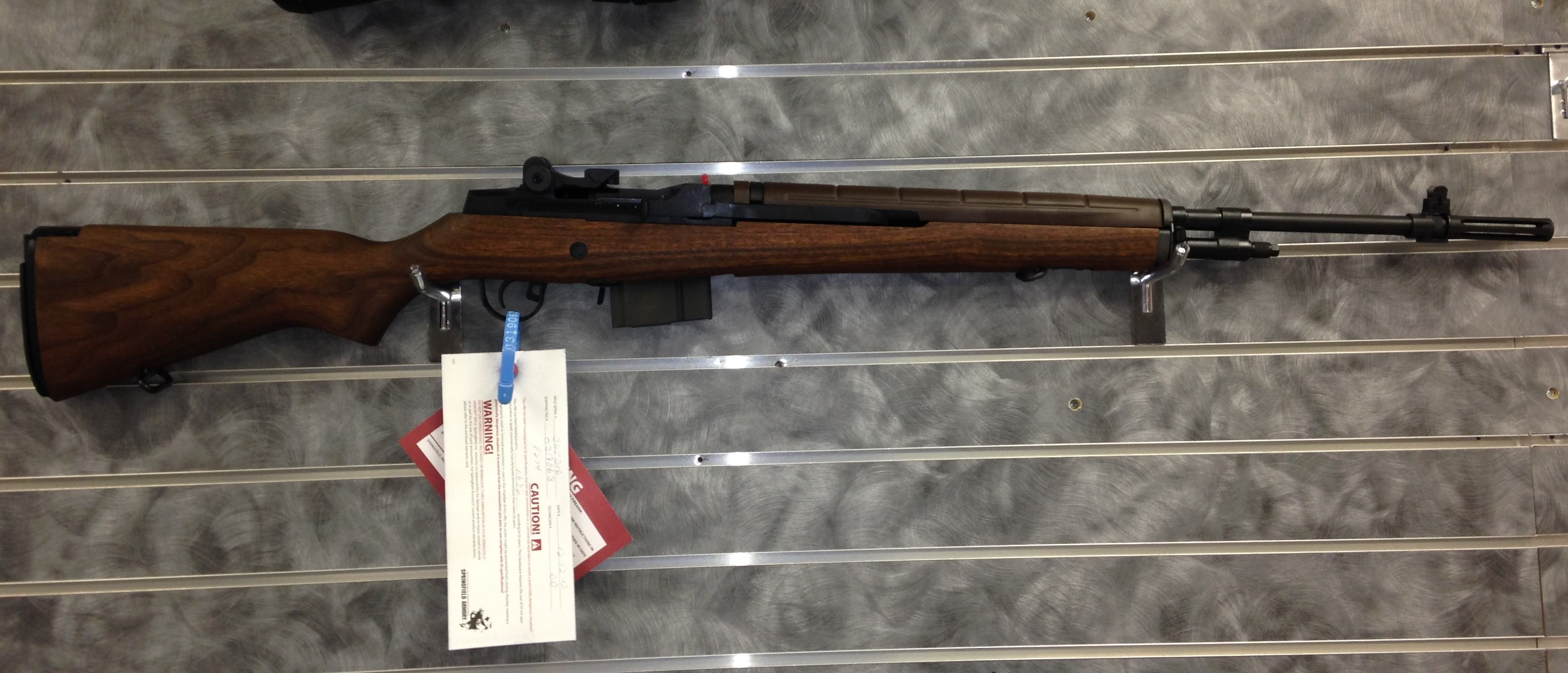 Springfield Armory M1A Loaded Walnut Rifle with National